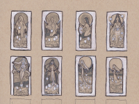 Lady of August Thumbnail Sketches