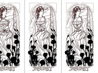 Lady of January Rough Sketches