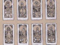 Lady of March Thumbnail Sketches