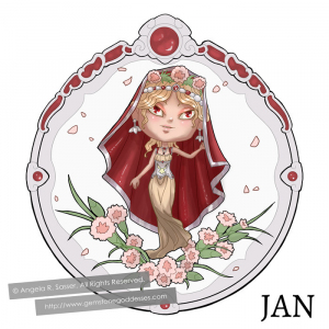 Little Lady of January
