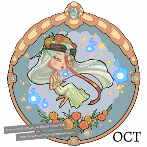 Little Lady of October