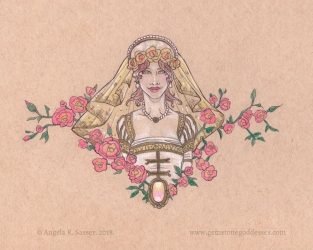 Visage Collection - Lady of Veiled Roses (JUN)